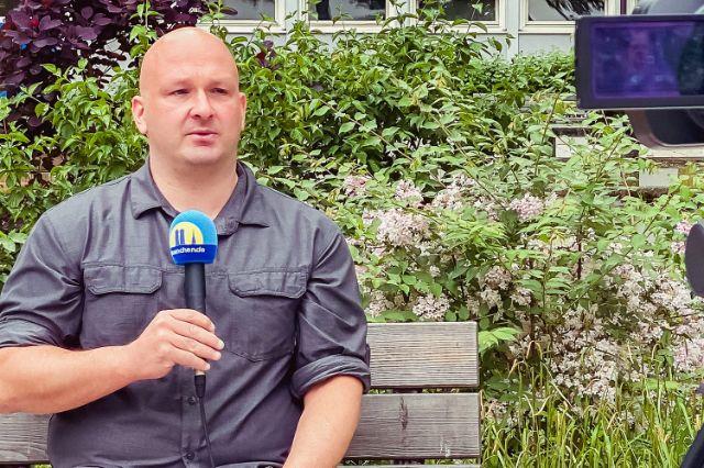Marcus Höflmayr, Lehrer an der Städtischen Franz-Auweck-Abendschule