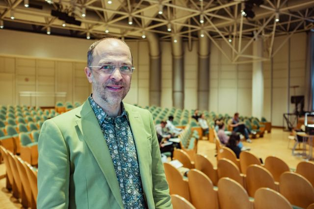 Michael Bäßler, Schulleiter des Städtischen Münchenkollegs