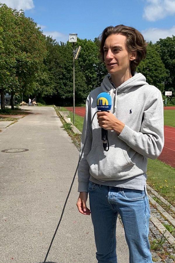 Schüler am Städtischen Münchenkolleg