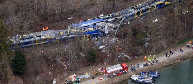 Zugunfall Zwischen Holzkirchen Und Rosenheim Das