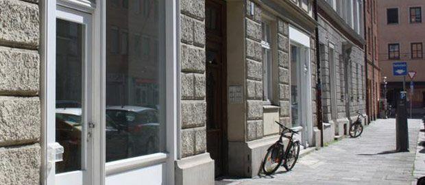 Ladenlokal in der Angertorstraße 3 für WikiMUC, Foto: Presse- und Informationsamt München