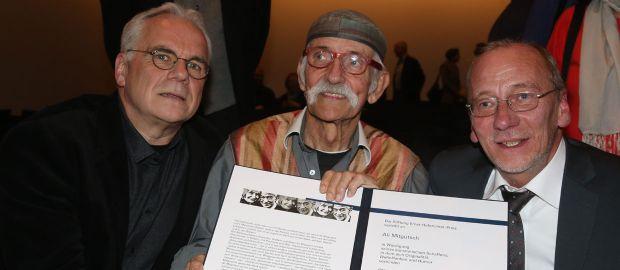 Verleihung des Ernst Hoferichter-Preises an Ali Mitgutsch, Foto: Wolfgang Roucka