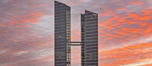 Die Highlight Towers in Schwabing., Foto: Rainer Viertlböck