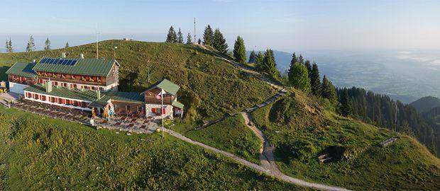 Brauneck Gipfelhaus, Foto: Michael Naumann