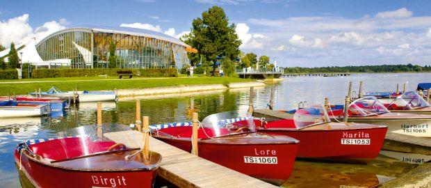 Boote in Prien am Chiemsee, Foto: Priener Tourismus GmbH/Paul Mayall