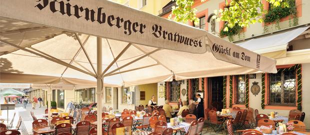 Nürnberger Bratwurst Glöckl am Dom München