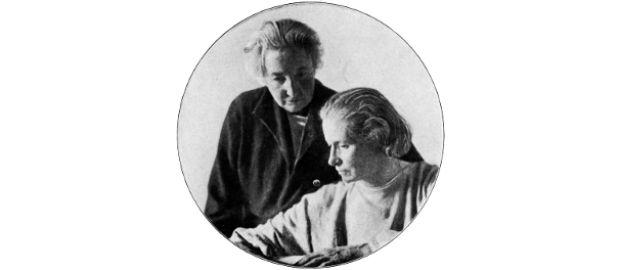 Anita Augspurg und Lida Gustava Heymann