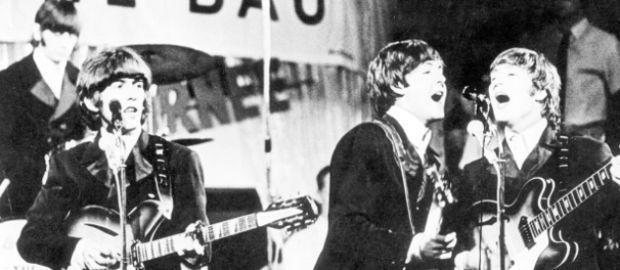The Beatles im Circus Krone Bau