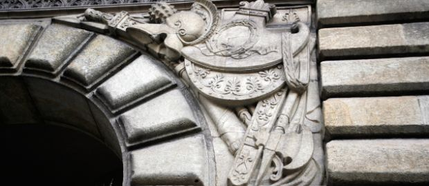 Fassade des ehemaligen Kriegsministeriums