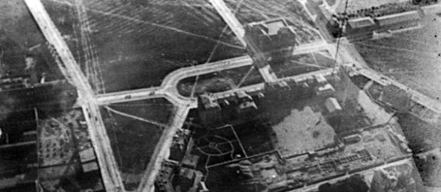 Luftaufnahme des Marsplatzes