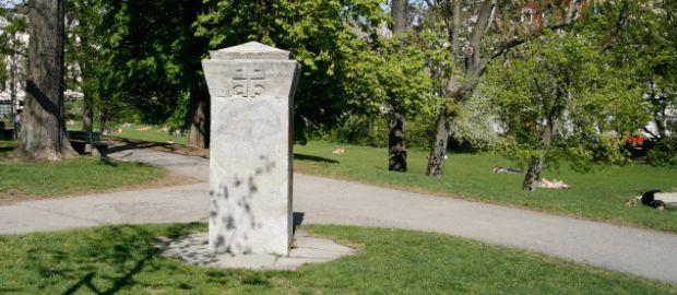 Denkmal mit dem Jans'schen Turnerkreuz