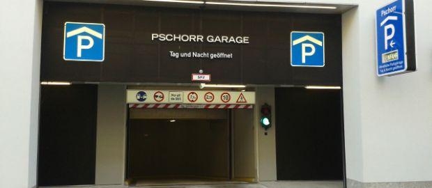 Pschorr Garage, Foto: Bavaria Parkgaragen GmbH