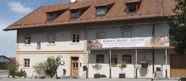 Kupfermuseum Kuhnke in Fischen am Ammersee, Foto: Heike Herzog-Kuhnke