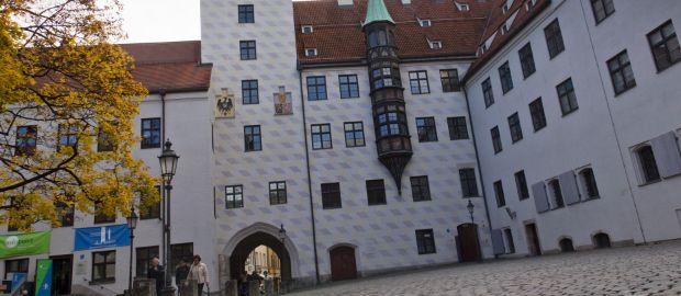 Alter Hof in der Innenstadt München, Foto: Katy Spichal