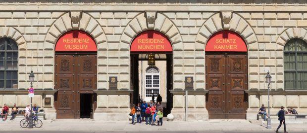 Schatzkammer der Münchner Residenz, Foto: Katy Spichal