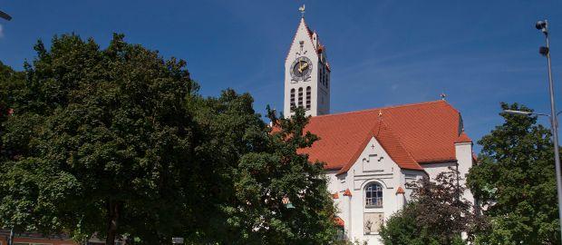 Erlöserkirche in Schwabing, Foto: Katy Spichal