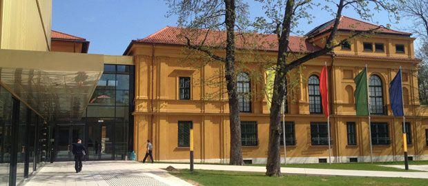 Lenbachhaus Fassade, Foto: Nikolaus Gradl