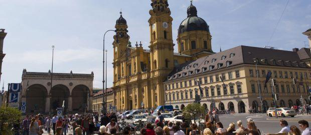 Odeonsplatz, Foto: Katy Spichal