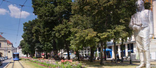 Promenadeplatz in der Innenstadt, Foto: Katy Spichal