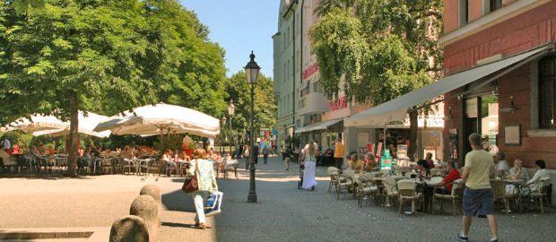 Münchner Freiheit , Foto: Stefan Strasser