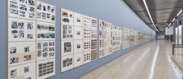 Kunstbau im Lenbachhaus - Ausstellung Gerhard Richter, Foto: Städtische Galerie im Lenbachhaus