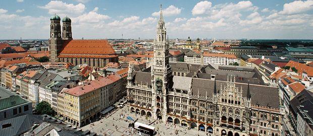 Neues Rathaus München, Foto: Nagy / Presseamt München