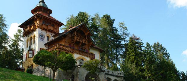 Die Villa Waldberta., Foto: Frank Hassler