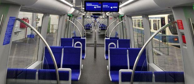U-Bahn, Innenausstattung, Foto: SWM/MVG