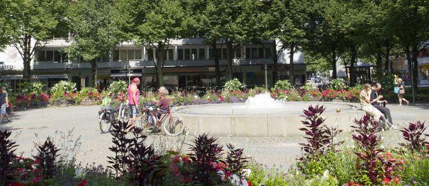 Hohenzollernplatz in München Schwabing-West, Foto: Katy Spichal