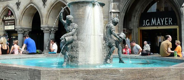 Fischbrunnen am Marienplatz, Foto: muenchen.de