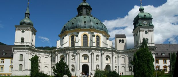 Kloster Ettal, Foto: Ammergauer Alpen GmbH, Stephan de Paly