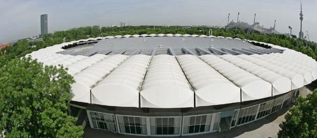 Event-Arena im Olympiapark, Foto: Olympiapark München