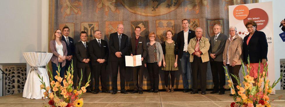 Bürgerpreis 2016 verliehen , Foto: Bildarchiv Bayerischer Landtag / Rolf Poss