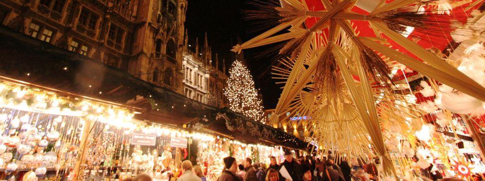 Christkindlmarkt am Marienplatz, Foto: Michael Nagy, Presse- und Informationsamt