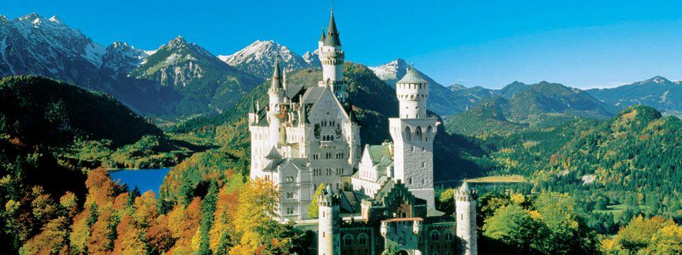 Schloss Neuschwanstein im Herbst , Foto: Bayerische Schlösserverwaltung