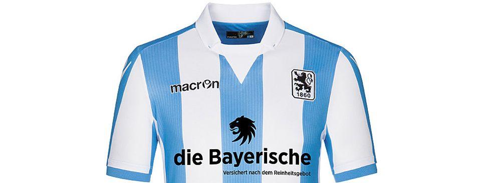 Das Trikot des TSV 1860 München für die Saison 2016/2017., Foto: TSV 1860 München