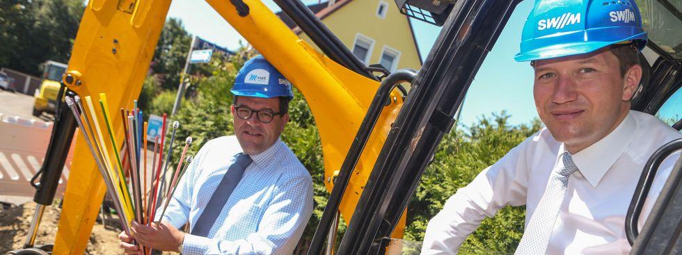 Glasfaser München, Foto: SWM/M-Net