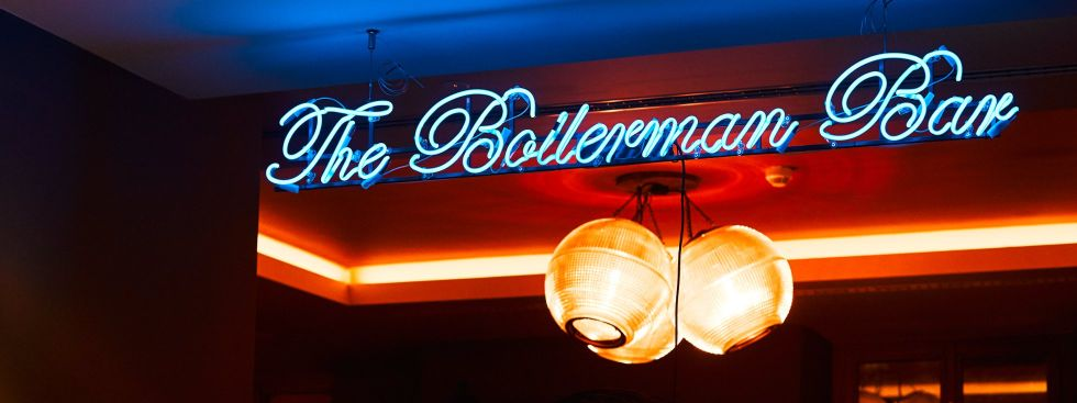 Die Boilerman Bar im 25hours Hotel The Royal Bavarian, Foto: 25hours Hotel Company