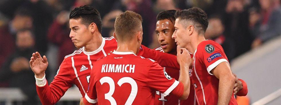 FC Bayern gewinnt gegern RSC Anderlecht, Foto: picture alliance / abaca
