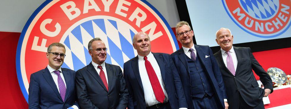 Jahreshauptveranstaltung 2017 des FC Bayern, Foto: picture alliance / Sven Simon