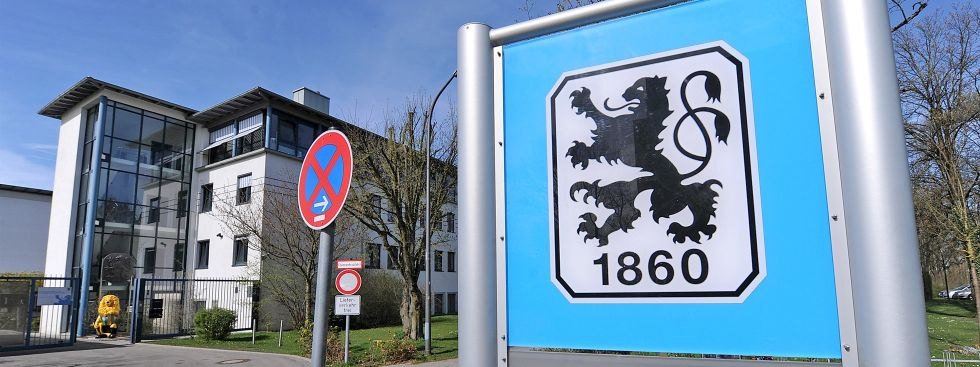 Die Gschäftsstelle des TSV 1860 München in der Grünwalder Straße., Foto: picture alliance / Pressefoto Ulmer