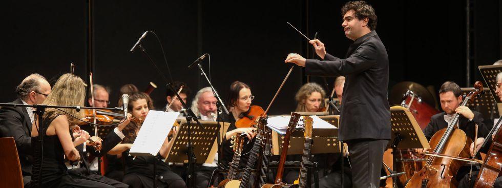 Benefizabend Bellevue di Monaco: Orchester, Foto: Oliver Bodmer