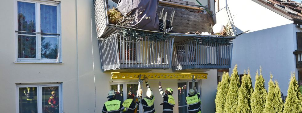 Balkon Abgebrochen