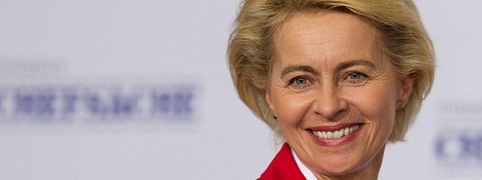 Verteidigungsministerin Ursula von der Leyen, Foto: Bundeswehr/Hannemann