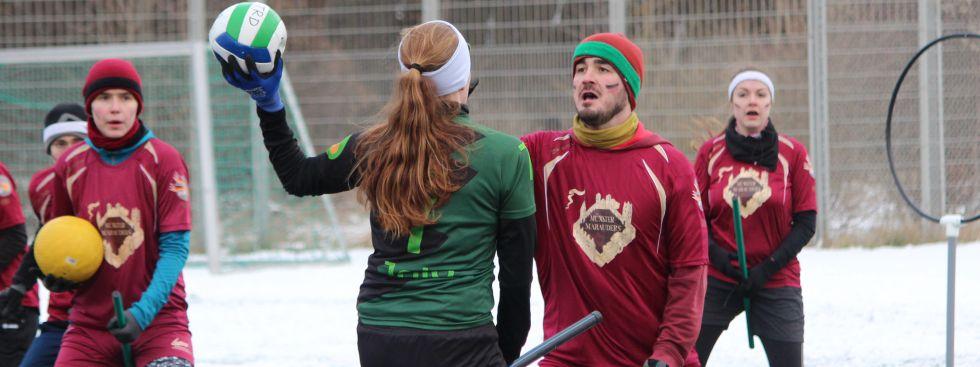 Impressionen von den Quidditch-Winterspielen in München., Foto: Nick van Klaveren
