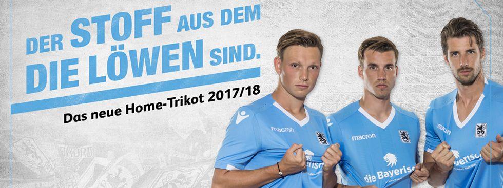So sieht das neue Heimtrikot der Löwen aus., Foto: TSV 1860 München
