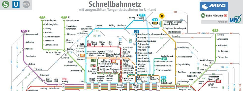 Neuer übersichtsplan Zeigt Verbindungen Zwischen Den S Bahn