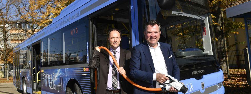 MVG schickt erste eigene E-Busse auf die Straßen - Das