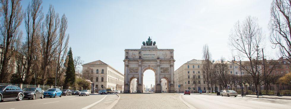 Münchner Sehenswürdigkeiten - Siegestor, Foto: muenchen.de / Mónica Garduño