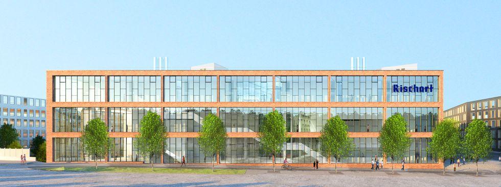 Visualisierung: Neue Rischart Zentrale Theresienhöhe, Foto: Kiessler Architekten